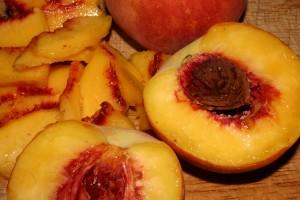 Pork Loin With a Peach Tomato Mash Recipe