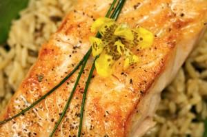 Madhur Jaffrey's Turmeric Salmon Recipe