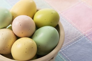 Easter Eggs with Watercress and Parsley Sauce Recipe