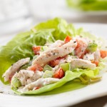 Basil Parsley Chicken Salad