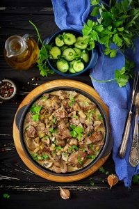 Buttered Lamb Liver Recipe