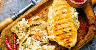 Feta-Stuffed Chicken Recipe