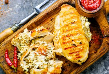 Feta-Stuffed Chicken Recipe