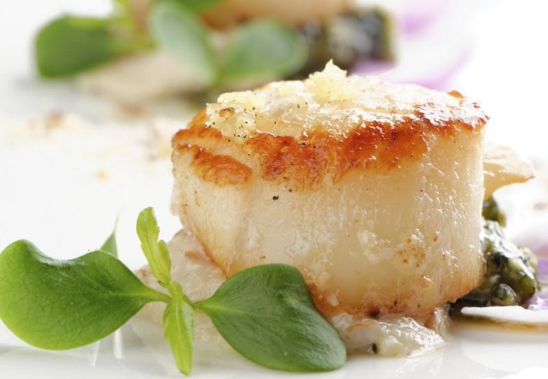 Seared Scallops with Gremolata Recipe
