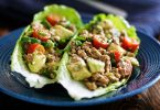 Turkey Avocado Lettuce Wraps Recipe