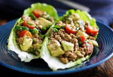 Turkey Avocado Lettuce Wraps Recipe